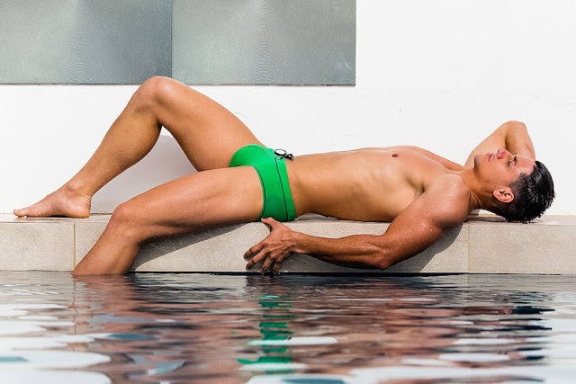 Jonathan Naranjo by Adrian C. Martin for BWET swimwear