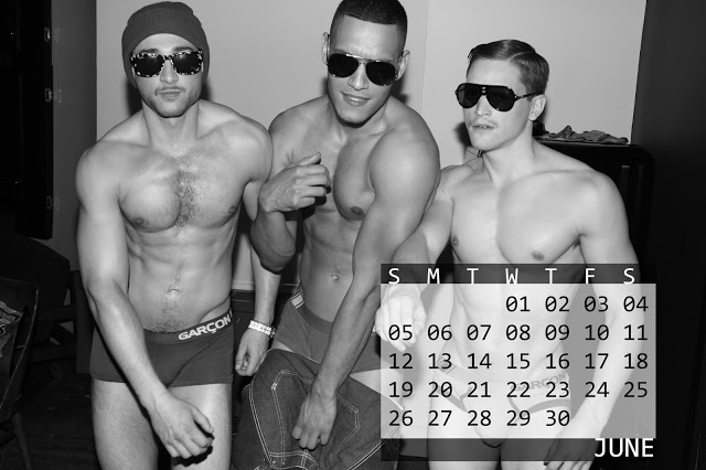 Garcon Model 2016 Calendar