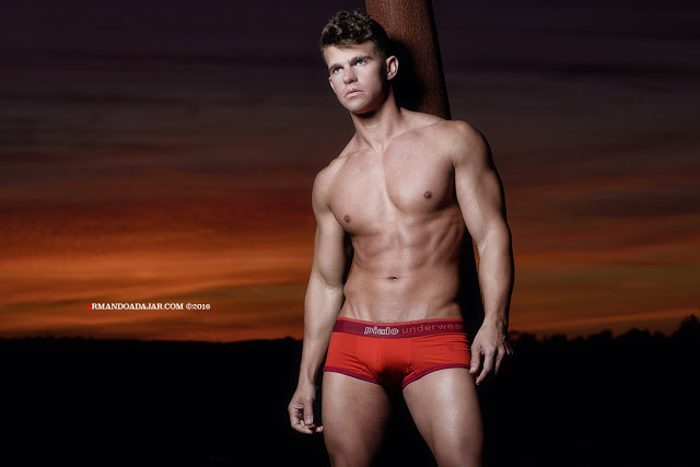 Shawn Alexander by Armando Adajar for Piado Underwear