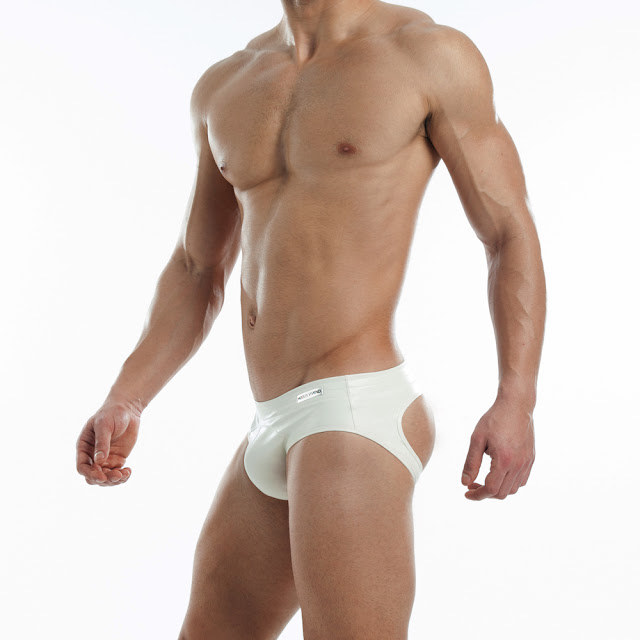 New White Leather underwear by Modus Vivendi
