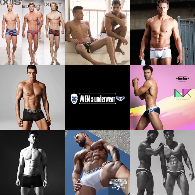 The top 8 nominated for Best Underwear Brand for 2015 at Men and Underwear Awards