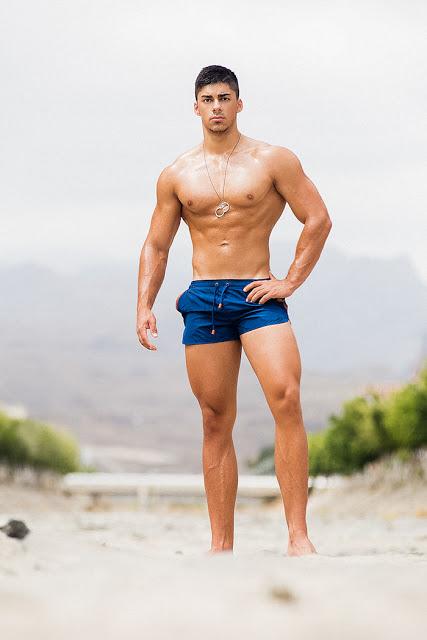 Eduardo Rodríguez by Adrian C. Martin - 2EROS swimwear