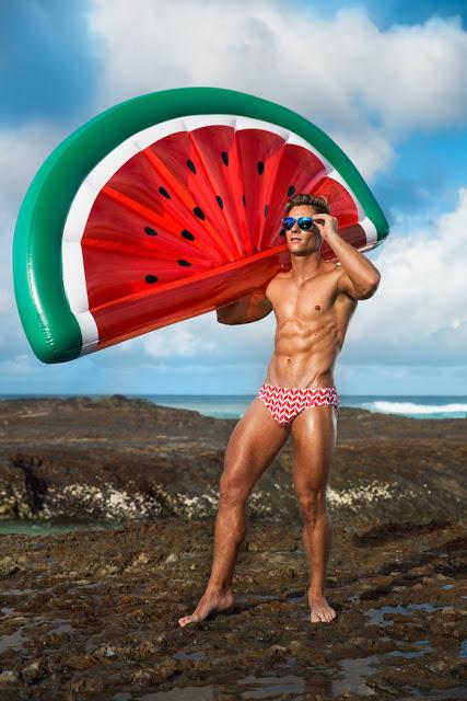 Joshua Dows by Jarrod Carter for HVNC swimwear