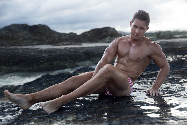 Joshua Dows by Jarrod Carter for HVNC swimwear