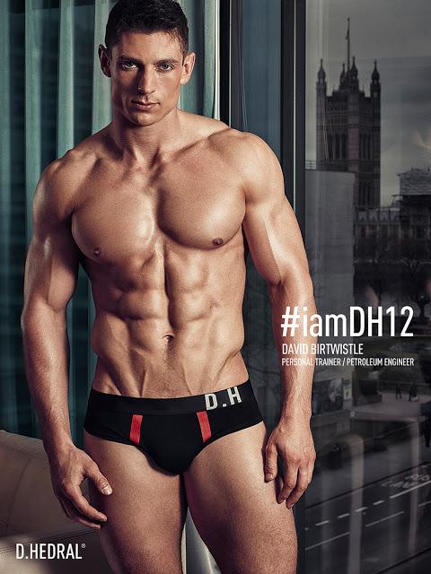 David Birtwistle for D.HEDRAL underwear