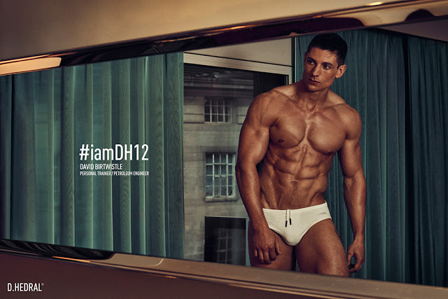 David Birtwistle for D.HEDRAL underwear