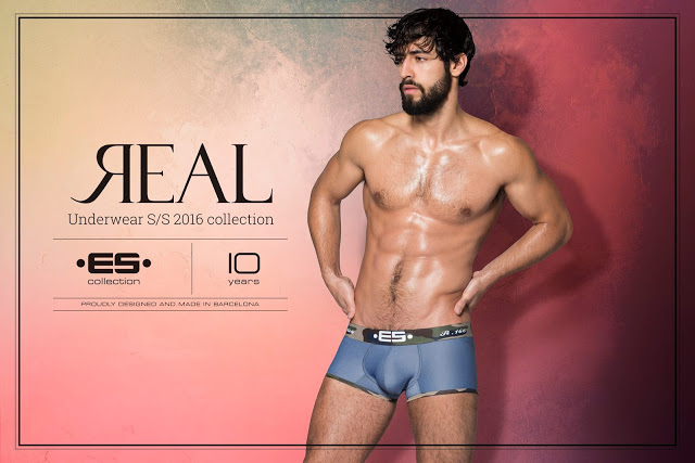 Es Collection underwear - Spring Summer 2016 campaign REAL