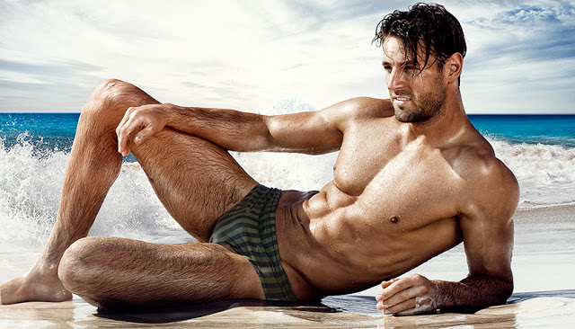 New Vintage Stripes swimwear range by aussieBum
