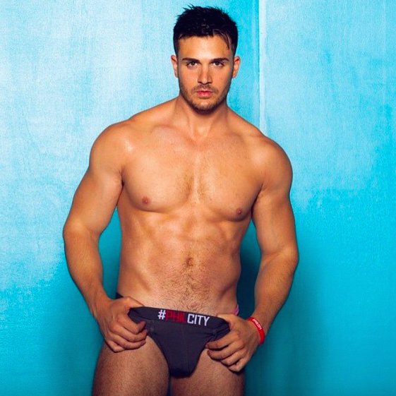 2nd Annual Men and Underwear Awards - Best model - 2015 - Philip Fusco