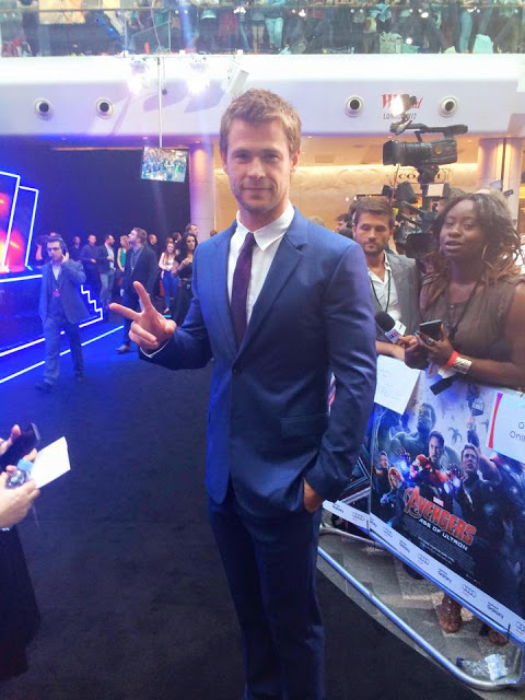 2nd Annual Men and Underwear Awards - Most sexy man - 2015 - Chris Hemsworth