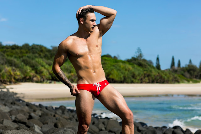 Jai Lee by Russell Fleming for Marcuse swimwear