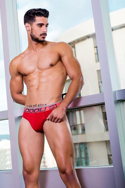 Josue Jimenez by Adrian C Martin for Lodoli underwear
