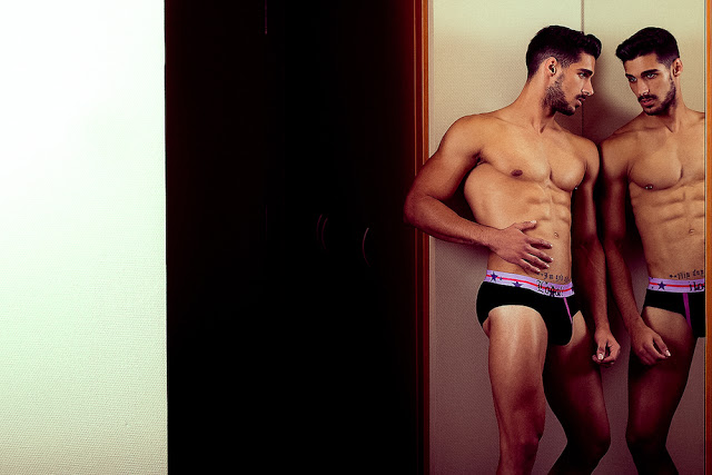 Josue Jimenez by Adrian C Martin for Lodoli underwear