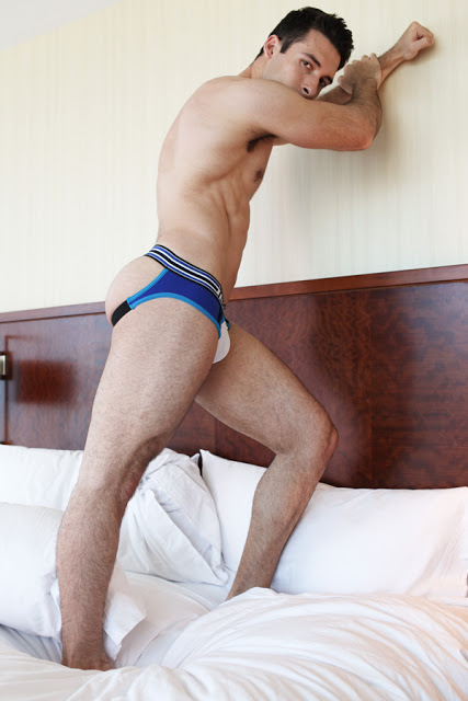 Valeri Lliev for Speedway underwear collection by Timoteo