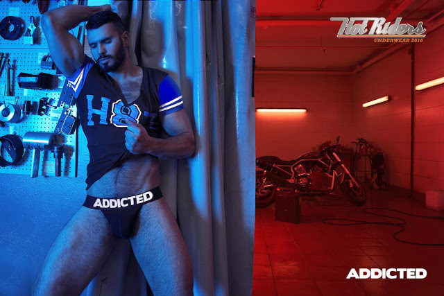 Addicted underwear - Hot Riders campaign