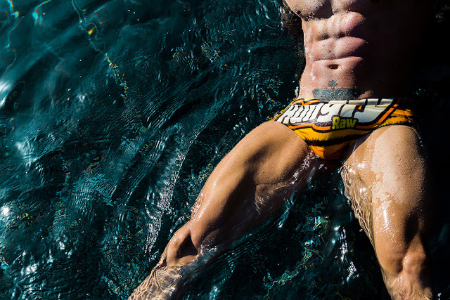 Adrian HC and Esau García by Adrian C. Martin for BoysGetWet swimwear