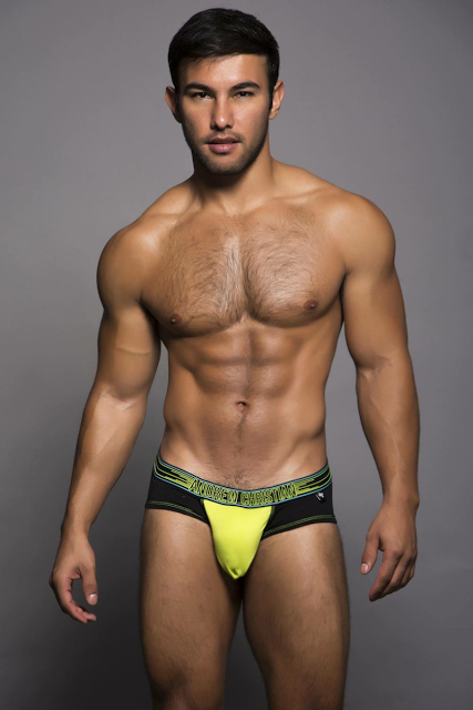 Uriel Ramirez for Andrew Christian