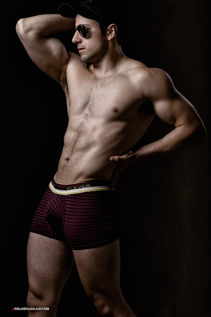 Nelson Marin by Armando Adajar for Clever underwear
