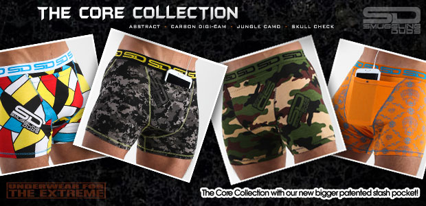 Smuggling Duds underwear - The Core Collection