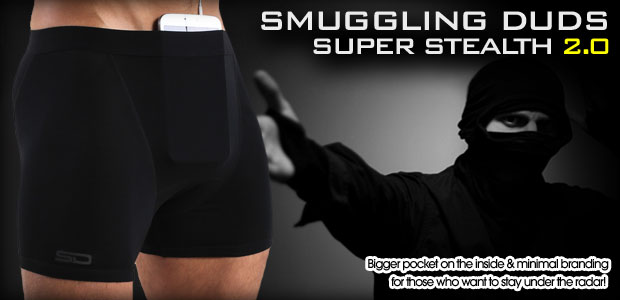 Smuggling Duds underwear - Super Stealth 2.0 collection
