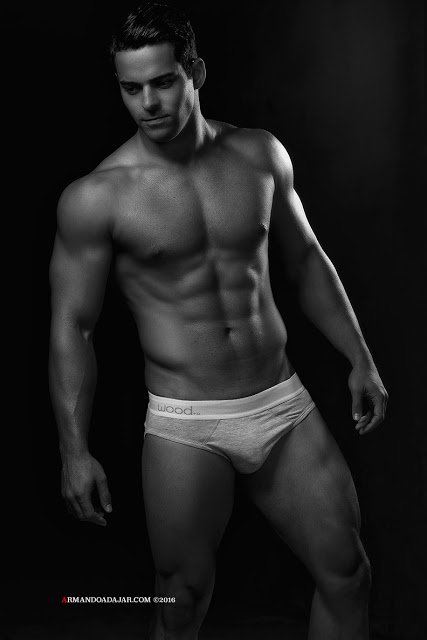 Bijan Kashani by Armando Adajar for Wood underwear