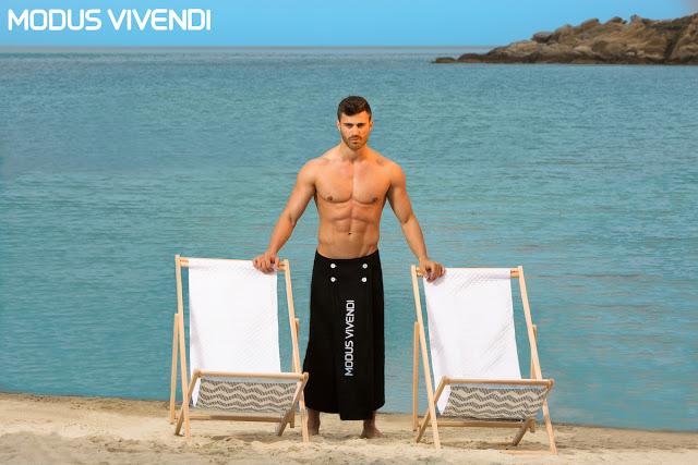 Modus Vivendi swimwear - Contrast line