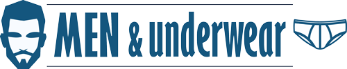 Men and underwear logo