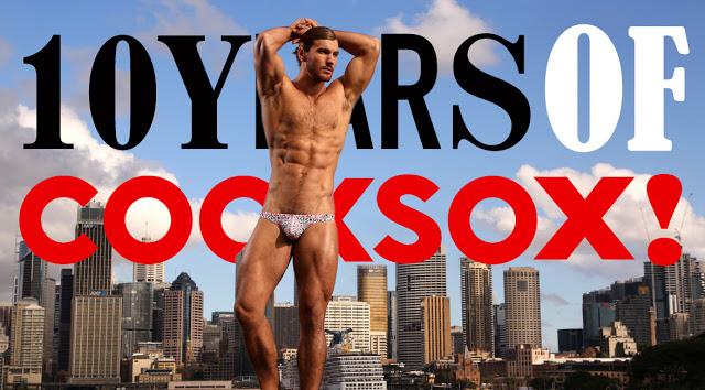 Cocksox underwear - 10 year anniversary