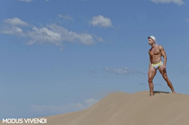 Daian Zubieta by Gastohn Barrios - Modus Vivendi underwear Narrow line