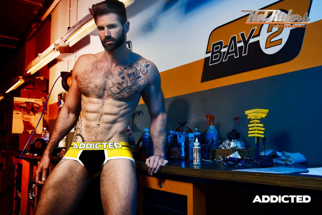 ADDICTED PADDED FRONT AND BACK BRIEF