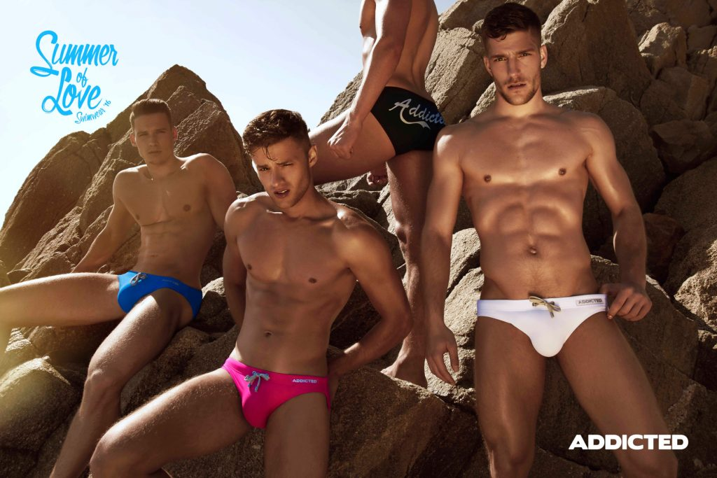 ADDICTED PLATINUM SWIM BRIEF