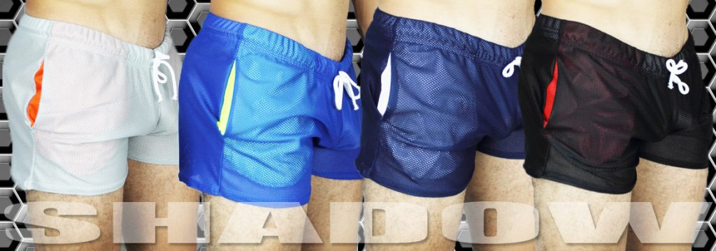 Shadow Mesh Shorts by McKillop via MCKstore.