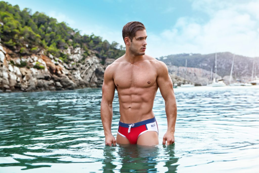 BCNU Vivid Swim Brief