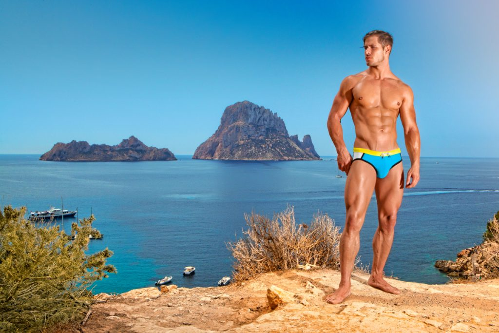 BCNU swimwear - Vivid Swimming Brief