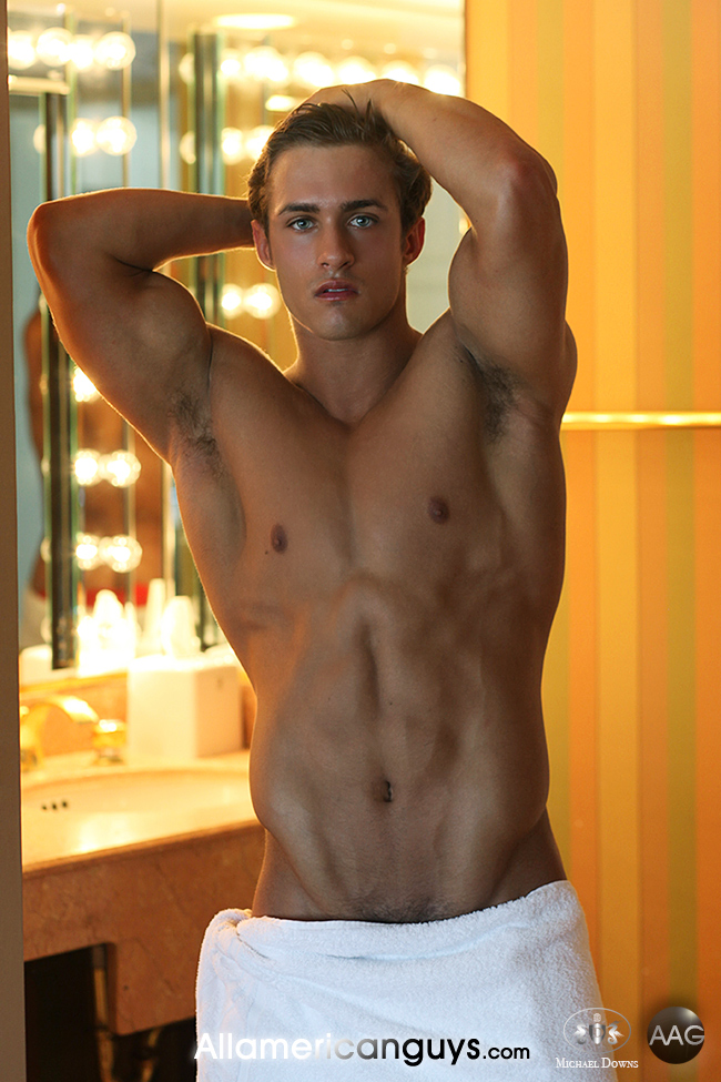 Robby Barker by Michael Downs for All American Guys 01