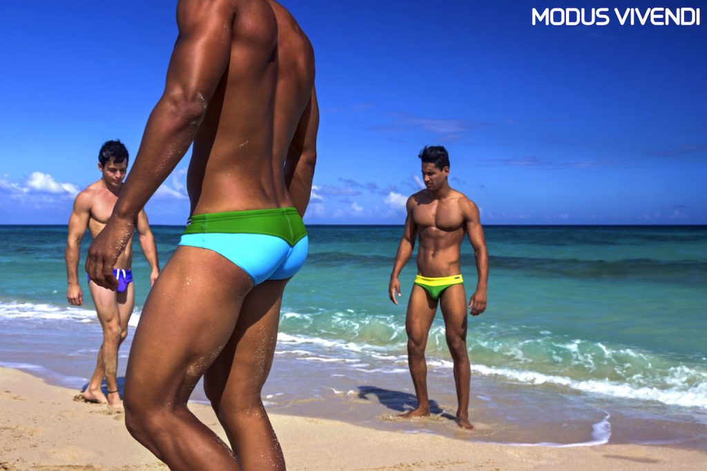 Rainbow swimwear by Modus Vivendi - Kevin Slack photos