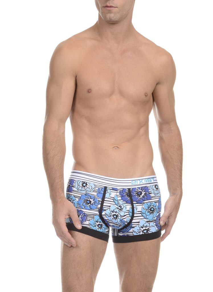2xist underwear - Graphic Cotton trunks 01