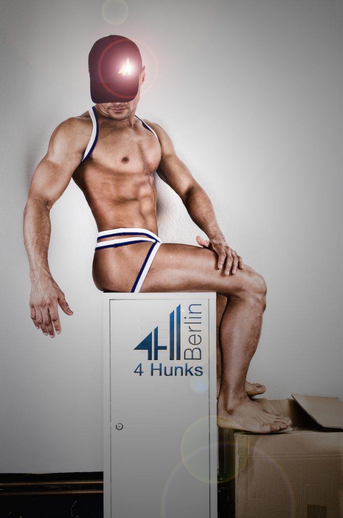 4 Hunks underwear -Jock W1.3