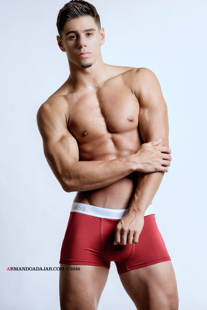 Nick Perillo by Armando Adajar for Wood underwear 01
