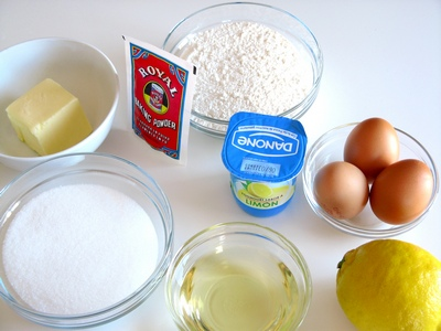 Ingredientes Bizcocho Yogur