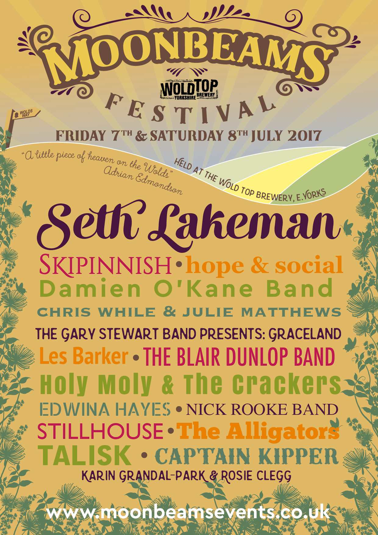 Moonbeams Festival Lineup 2017