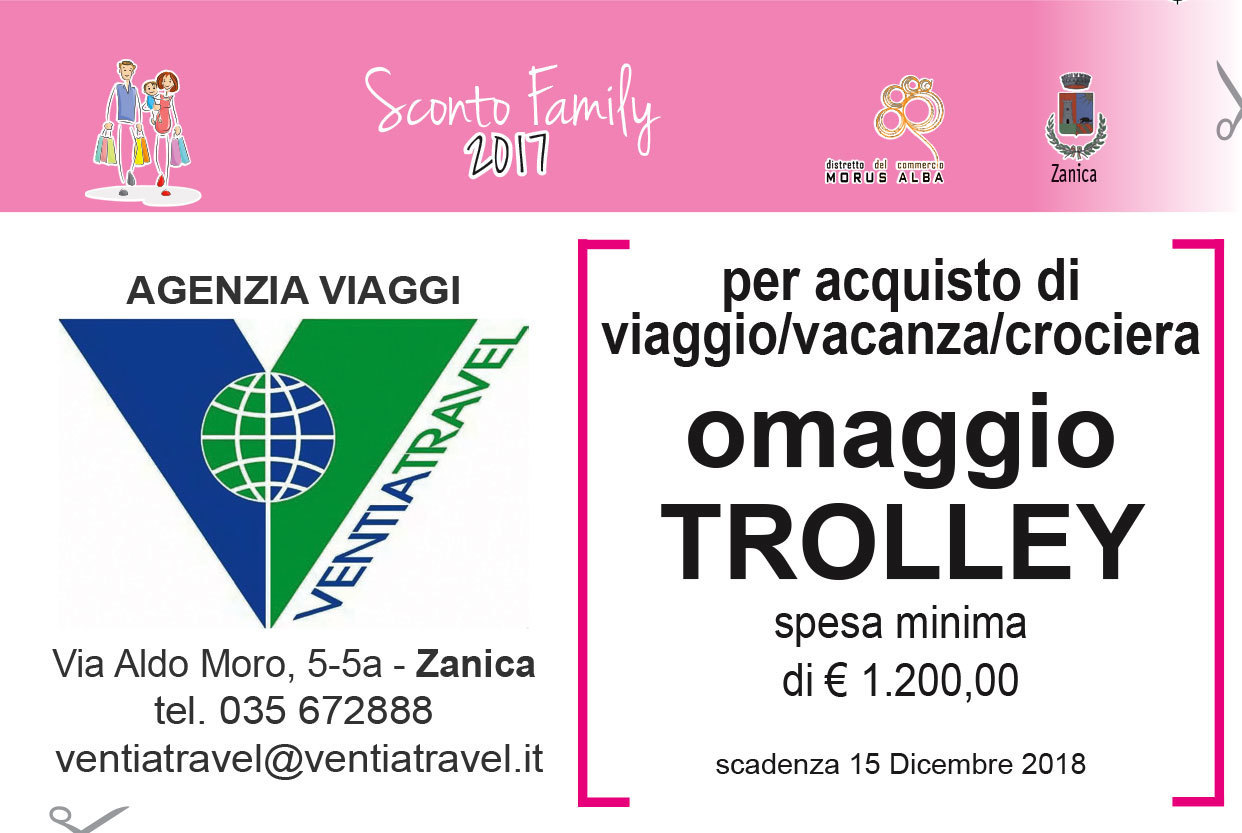 Promozione Omaggio Trolley