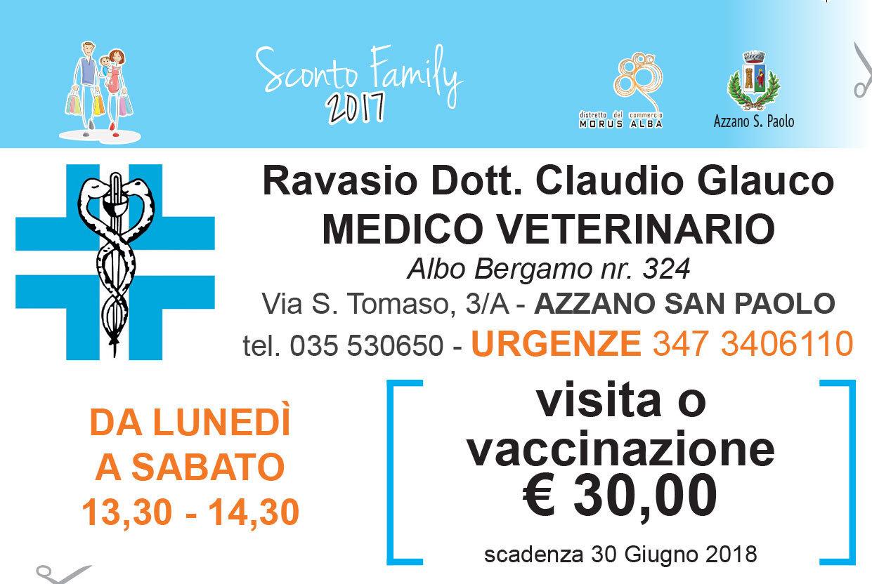 Promozione Visita o vaccinazione 30€