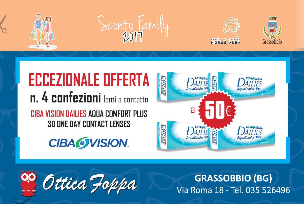 Promozione 4 confezioni lenti a contatto 50€