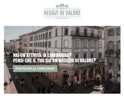 """""""Negozi di valore"""", al via le candidature per partecipare al concorso regionale"""