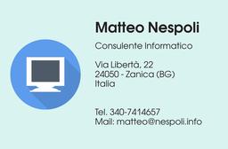 Matteo Nespoli Consulente informatico