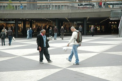 Bill Pardons verk om Sergels Torg och dess brukbarhet.