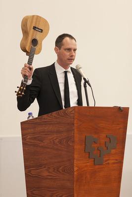 Performance lecture by Olof Olsson, Bizbak University, Bilbao, 2012