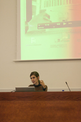 Performance lecture by Patricia Esquevias, Bizbak University, Bilbao, 2012