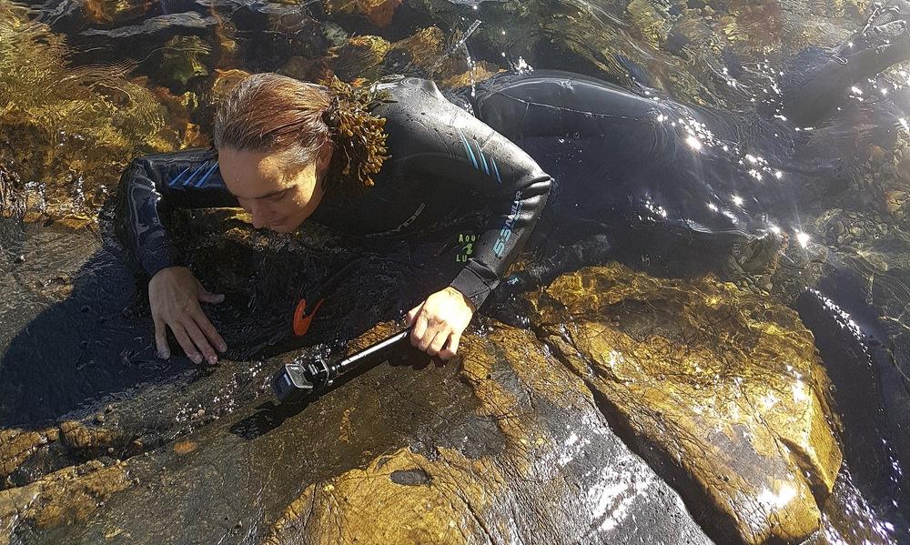 Elin T Sørensen forskar bland annat om tidvattenzoner, och är en av guiderna till årets Power Walk.